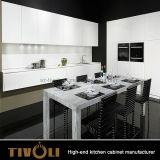 Verenigt de BasisKeukenkasten van de Begroting van het project met Kwaliteit Witte Cabient Cutom Gemaakte tivo-0082h