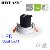 10W раунда Aliuminum початков набегающей белых светодиодов светодиодная подсветка LED прожектор