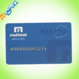 Пробел визитной карточки металла
