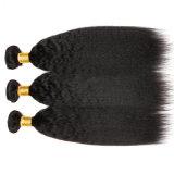 Cabelo reto de Yaki do cabelo humano peruano quente do Virgin da venda