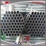 Tubo de acero y tubos usados invernadero galvanizados tubo del soldado enrollado en el ejército