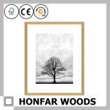 30X40cmの装飾のための台紙が付いている自然な木の額縁