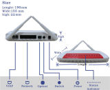 Einzelnes Ontario des Faser-Modem-ONU Gpon mit 4ge 2pots Wi-FI