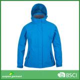 Moda 3-em-1 jaqueta de roupas femininas de inverno