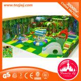 Cosechadora suave de la bola de piscina del juego con el parque de interior del patio de la diapositiva
