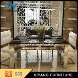Таблица китайского квадрата мебели мраморный обедая