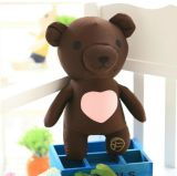 El juguete encantador del bebé del oso del peluche de la felpa embroma el regalo