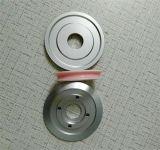Puleggia più al minimo di alluminio personalizzata D60*D22*H13mm del rivestimento di ceramica per le industrie di Wire&Cable