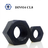 Cl des noix DIN934 Hex. Noix de 4/5/6/8/10/12 acier du carbone