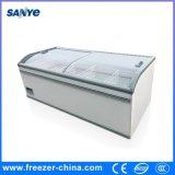 Supermercado Jumbo Display Freezer Seafood Freezer para venda