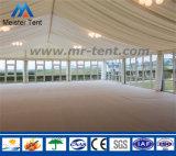 Capacidade de 500 povos uma barraca transparente da forma