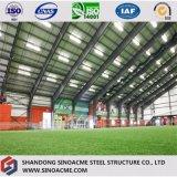Construction commerciale en acier de bâti portique pour le football
