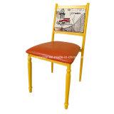 Empilhando a cadeira da mobília do café do restaurante do metal (JY-R38)