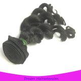 Ein Spenderindisches Extensions-Jungfrau-Menschenhaar des Haar-8A