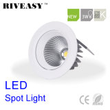 Foco LED 3W antirreflejos con Ce&RoHS Downlight LED Lámpara