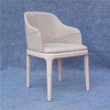 椅子Yc-F132を食事する卸し売りフランスのホテルの金属のArmrest