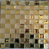 ダイヤモンドミラーの硫化第2すずのモザイク・タイル(HD065)