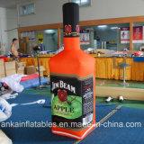 Se utilizan en todo comercial inflable impreso botella de champán con buen precio.