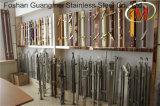 Pilar Titanium del pasamano de la escalera del acero inoxidable (GM-545/GM-B003K/GM-B165-2)