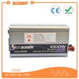 Inversor solar de Suoer 1000W 24V com CE&RoHS (SAA-1000B)
