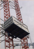Xmtのラック・ピニオンの建築材の起重機