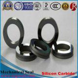 Anillos de cierre refractarios del carburo de silicio de Rbsic de la pureza elevada (SSiC)