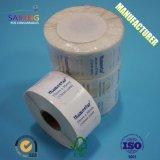 Étiquette adhésive thermique pour toute taille