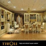 Abitudine di legno Tivo-050VW della Camera piena dell'armadio della mobilia della camera da letto dell'impiallacciatura dell'alta di lucentezza pittura della lacca