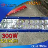 LED 모는 빛 300W 크리 사람 LED 표시등 막대 Offroad 4WD