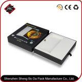 Negro personalizada cine mudo caja de embalaje de papel electrónico Teléfono