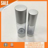Tampão de garrafa de alumínio em metal prateado para garrafas de creme de loção