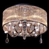 Квадратное самомоднейшее кристаллический потолочное освещение для украшения дома или гостиницы