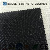 Cuero sintetizado superficial del PVC de la perla para el bolso de la mujer y la tapicería de los zapatos