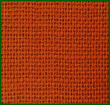 Rolo de tecido de serapilheira de juta colorida