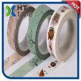 Le produit populaire de DIY fabriqué à la main personnalisent l'impression enveloppant Washi de bande paerforée