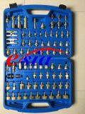 Herramientas de la mano del compresor de la CA de las piezas de automóvil con R134A