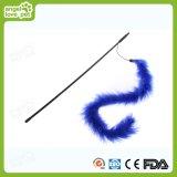 Teaser colorido del gato de la pluma, juguete del animal doméstico