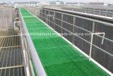 Reja antirresbaladiza de la fibra de vidrio GRP/reja de la fibra de vidrio/reja moldeada