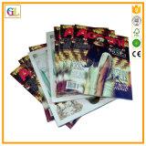 Servicio de impresión, impresión del libro de cubierta suave, impresión del compartimiento