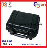 LEDドライバーABSのための黒く強いプラスチック防水ボックスはスポンジのダイビングの装置の箱を防水する