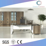 Modern L Shape White Home Furniture Ordinateur Bureau Bureau Table