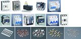 Todos os tipos de pontos elétricos usados em diferentes relés e interruptores