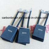 Vendas para a escova de carbono D374 para o motor de DC/AC