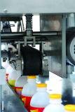 Tipo linear máquina que capsula para las botellas con los casquillos de la rosca de tornillo