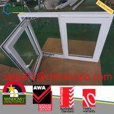 Finestra della stoffa per tendine del PVC, doppia finestra della stoffa per tendine di effetto di uragano