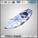 S'asseoir sur le haut non gonflable Kayak récréatif unique