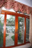 Алюминиевая раздвижная дверь и сползая окно