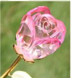 Al por mayor de flores artificiales Cristal Rose