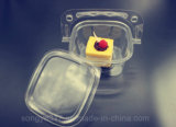 Kreativer Handkorb-Kuchen-Fruchtsalat-transparenter Blasen-Wegwerfsatz