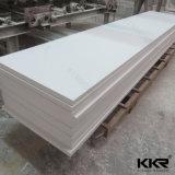12 mm Baumaterial-Gletscher-weiße feste Oberfläche für Tisch
